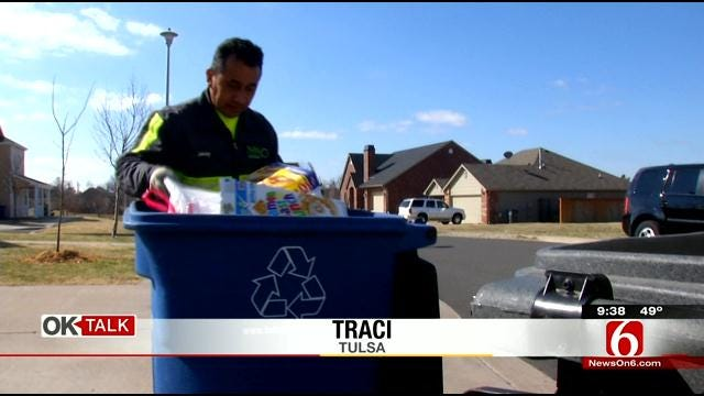 OK Talk: Should Tulsans Be Fined For Breaking The Recycling Rules?