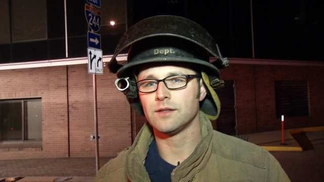 WEB EXTRA: Tulsa Firefighter Mike Atkins Talks About The Rescue