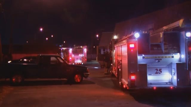 WEB EXTRA: Video From Scene Of Apartment Fire At 32nd And Sheridan