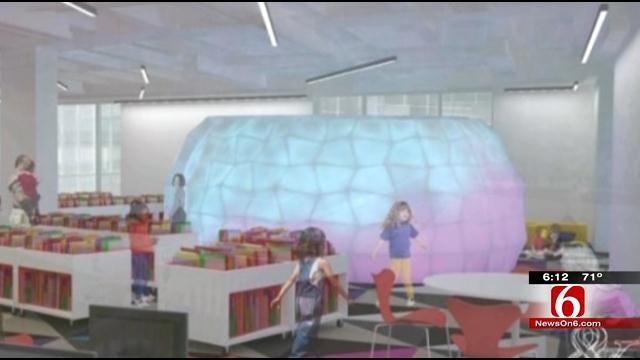 Downtown Tulsa Library Undergoes Massive Renovation