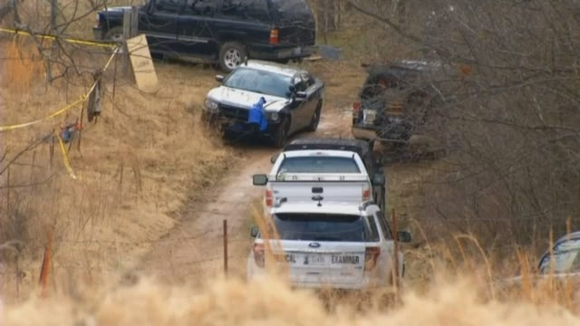 WEB EXTRA: Video From Search Area In Cherokee County