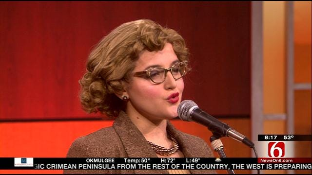 Haley Jane Pierce Sings Patti Page's Tennessee Waltz On 6 In The Morning