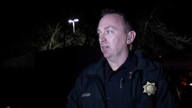 WEB EXTRA: Tulsa Police Officer Kip Vanhoozer Talks About Crash