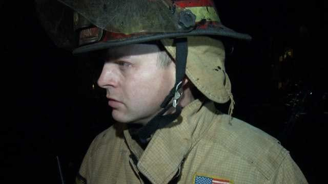 WEB EXTRA: Tulsa Fire Captain John Sawyer Talks About Fire