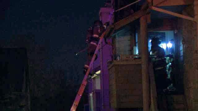 WEB EXTRA: Video From Scene Of Silverstone Apartment Building Fire
