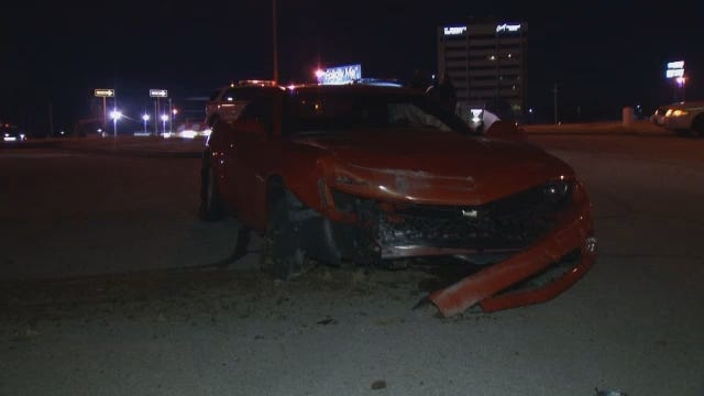 WEB EXTRA: Video From Scene Of Crash At 41st And Sheridan At I-44