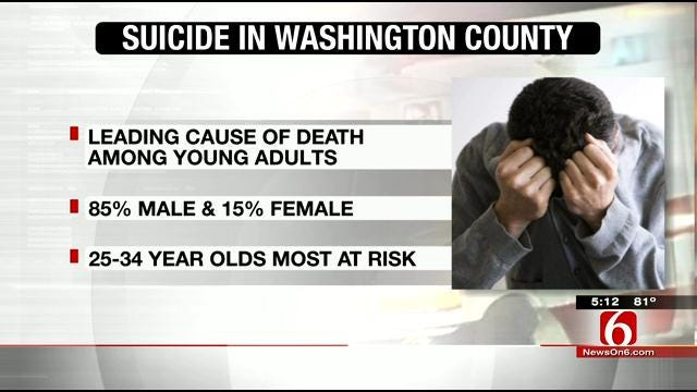 Washington County Suicide Rate Twice National Average
