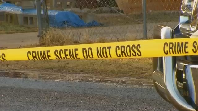 WEB EXTRA: Video From The Scene Of A Homicide Investigation In Chouteau