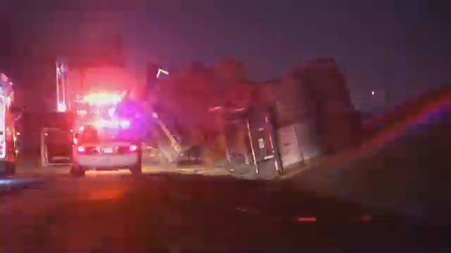 WEB EXTRA: Video From Scene Of Hay Bale Semi Crash On 169