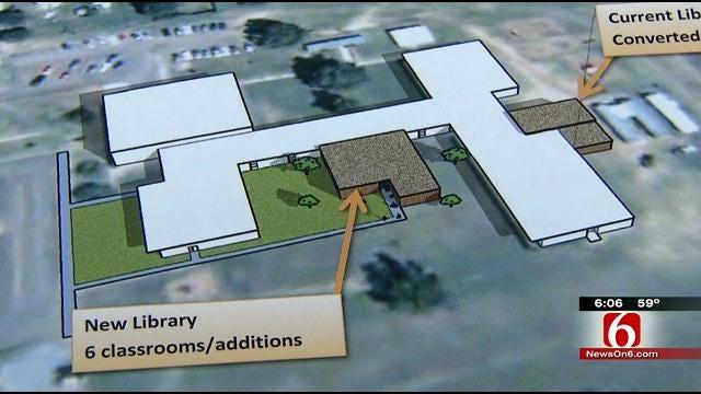 Tornado Proof Library New Addition To Tulsa Public Schools