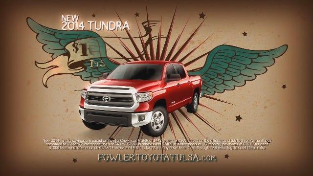 Fowler Toyota Tulsa: Truck Month