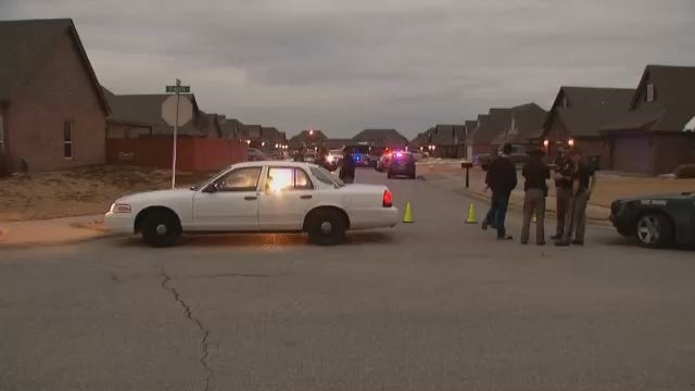 WEB EXTRA: Video From Scene Of Possible Jenks Murder-Suicide