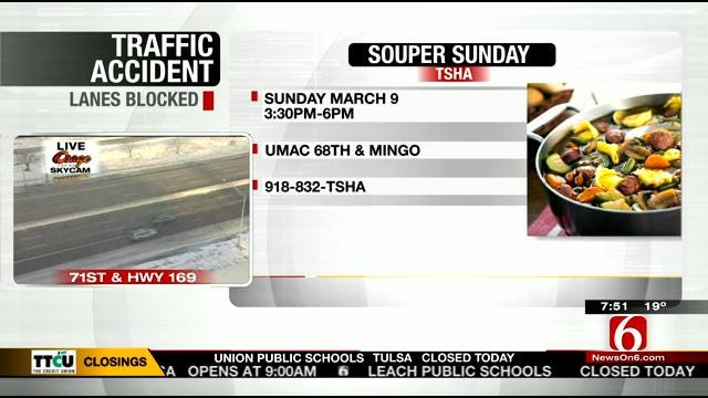 Souper Sunday Benefits TSHA March 9