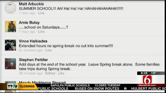 OK Talk: What's The Best Way For Schools To Make Up Snow Days?