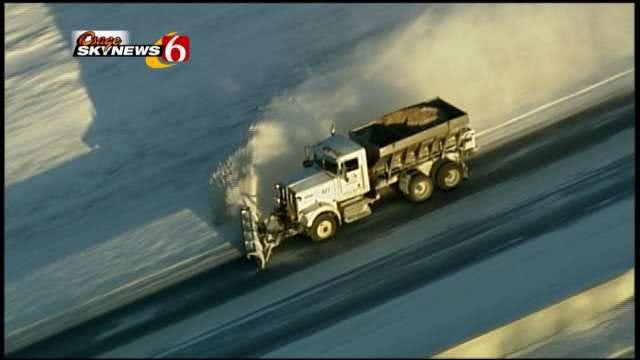 WEB EXTRA: Osage SkyNews 6 Flies Over Tulsa