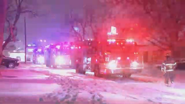 WEB EXTRA: Video From Scene Of Tulsa House Fire On 31st Place