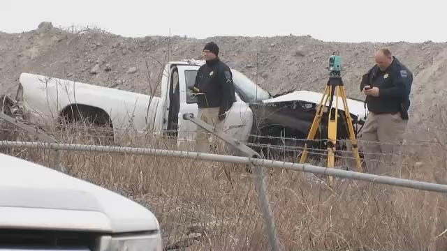 WEB EXTRA: Scenes From Fatal Tulsa Quarry Wreck
