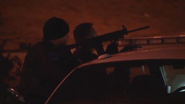 WEB EXTRA: Police Involved In Standoff At Tulsa Motel
