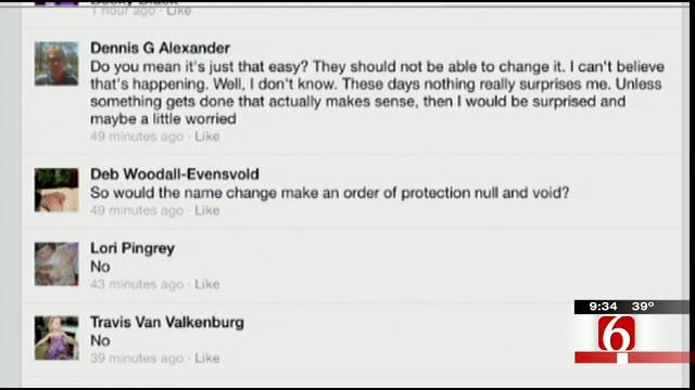OK Talk: Should Criminals Be Allowed To Change Their Names?