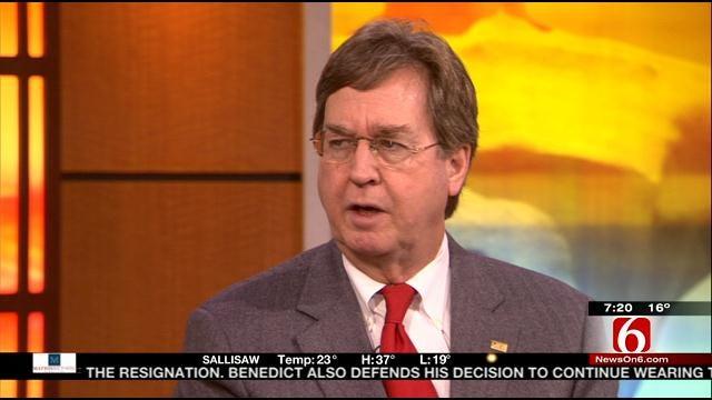 Tulsa Mayor Dewey Bartlett Talks Pension Reform