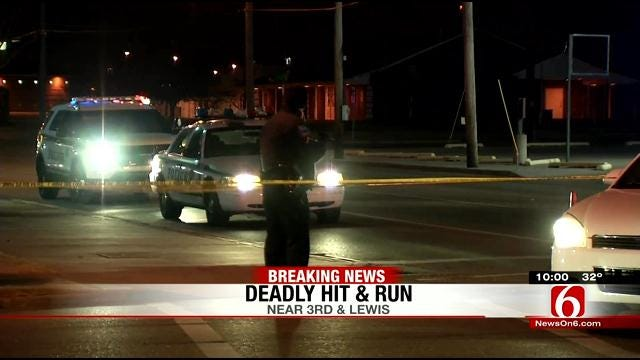 Woman Killed While Crossing Tulsa Street In Hit And Run