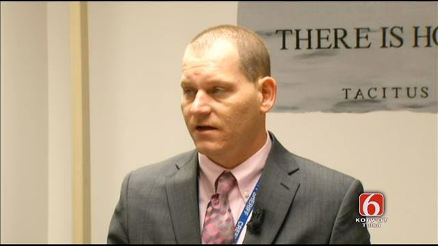 WEB EXTRA: Creek County Sheriff Detective Drew Mullinex News Conference