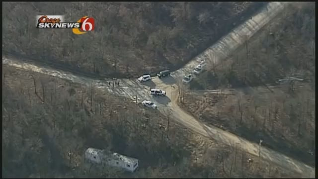 WEB EXTRA: SkyNews 6 Flies Over Kellyville Reported Abduction Site