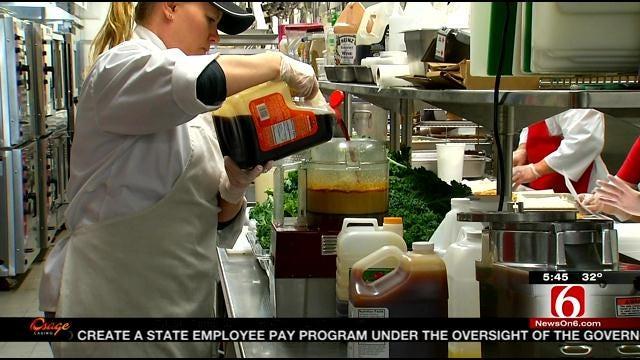 Tulsa Union Public Schools Upgrades Lunch Menu With Local Chef's Help
