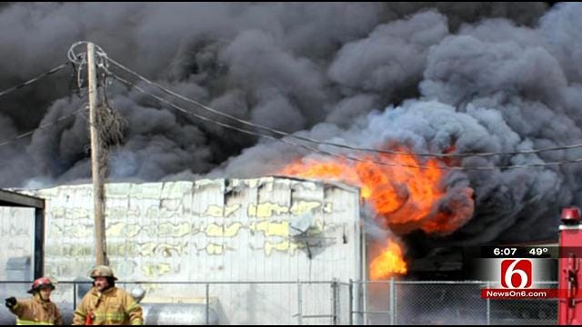 Grove Man Tries To Move On After Fire Destroys Business