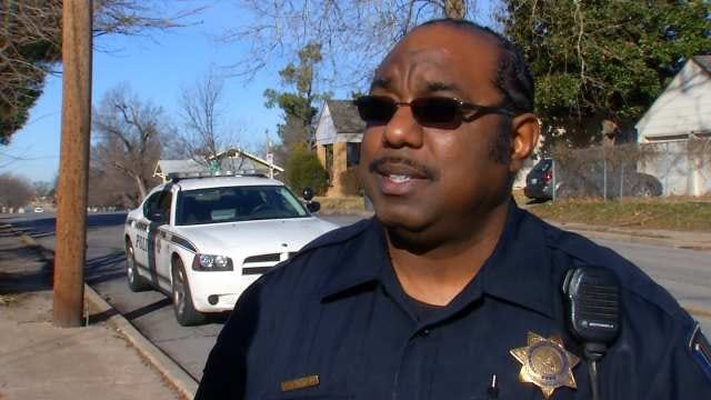 WEB EXTRA: Tulsa Police Officer Cleon Burrell Talks About The Two Crashes