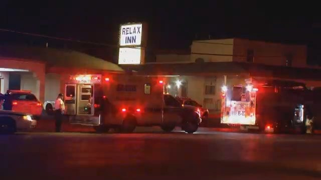 WEB EXTRA: Video From Scene Of Tulsa Motel Shooting