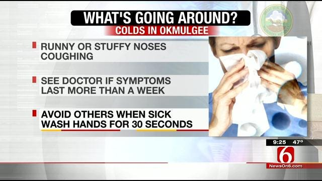 What's Going Around: Colds, Sore Throats, Allergies