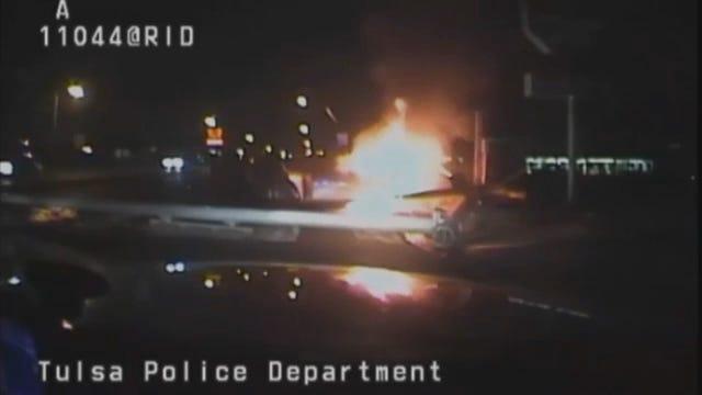 WEB EXTRA: Tulsa Police Department Dash Cam Video