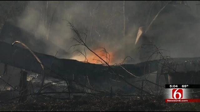Wagoner County Deputies: No Warnings For Burn Ban Violators