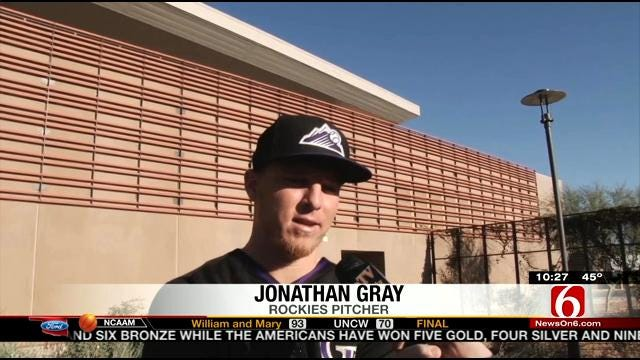 Could Former Sooner Gray Join Tulsa Drillers?