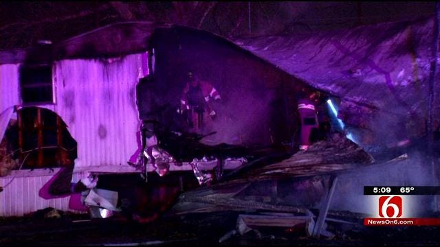 Family Identities Man Killed In Tulsa Mobile Home Fire