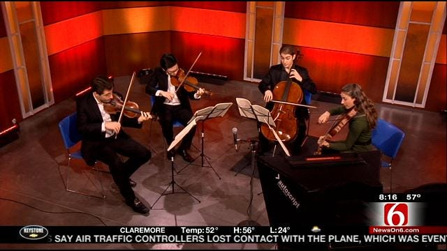 Dover Quartet Performs On 6 In The Morning