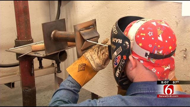 Tulsa Welding Competition Attracts High School Seniors From Across U.S.