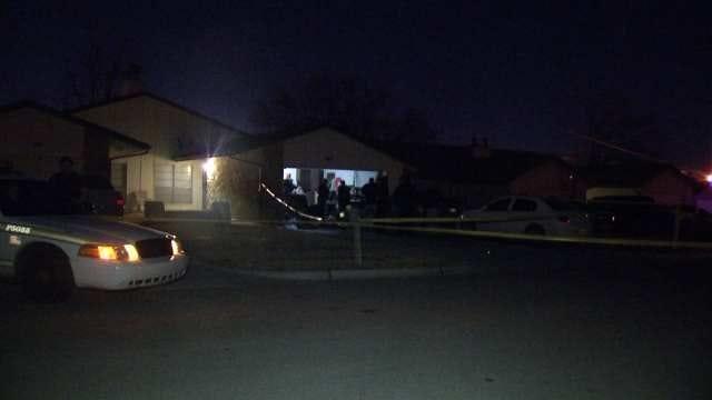 WEB EXTRA: Video From Tulsa Homicide Scene