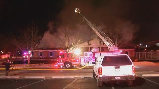 WEB EXTRA: Video From Scene Of Tulsa Office Building Fire