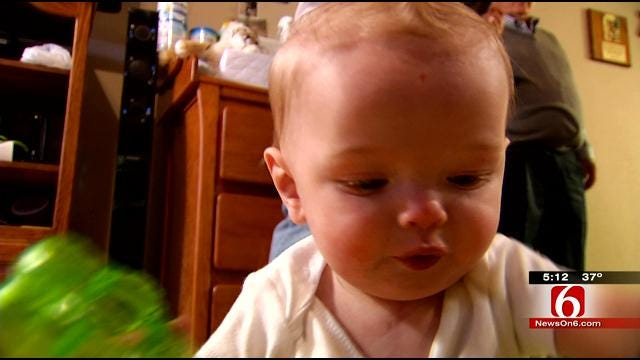 Heart Disease Doesn't Keep 8-Month-Old Oklahoma Boy Down