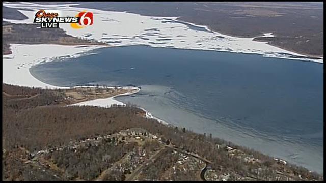 WEB EXTRA: Osage Skynews 6 Flies Over Keystone Lake