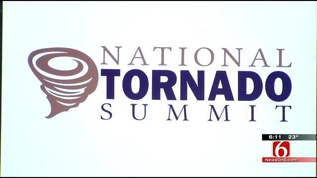 Weather Experts In Oklahoma For National Tornado Summit