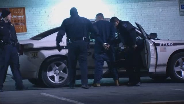 WEB EXTRA: Video From Scene Of Armed Robbery, Arrest