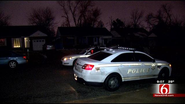 Police: Tulsa Homeowner Wounds Man After Daughter Cries For Help