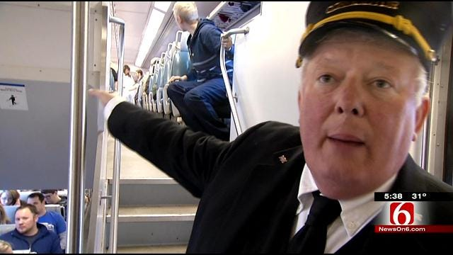 Passenger Rail Makes Debut With Round Trip From Sapulpa