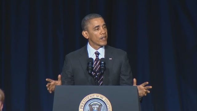 WEB EXTRA: President Obama Speaks About Senator Coburn
