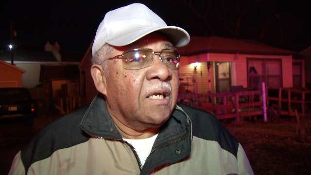 WEB EXTRA: Apartment Resident Johnny Harris Talks About Escaping The Fire