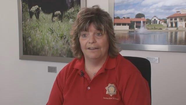 WEB EXTRA: Tulsa Police Detective Elizabeth Eagan Honored With Award