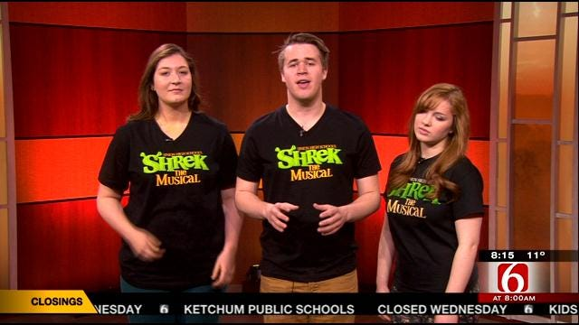 Tulsa's Union High School Students Perform A Song From 'Shrek' Musical